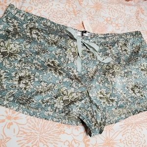 Victoria's Secret Silk Shorts NWT